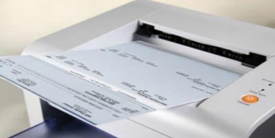 Stop Checks Printed At Home